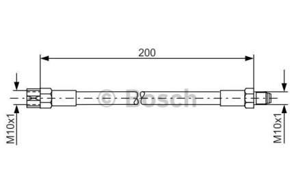 Шланг тормозной системы Bosch 1 987 476 002