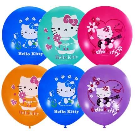Воздушные шарики Latex Occidental 30 см Пастель и декоратор Hello Kitty