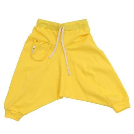 Брюки детские Bambinizon Лимонные ШТ-ЛИМ р.74 желтый
