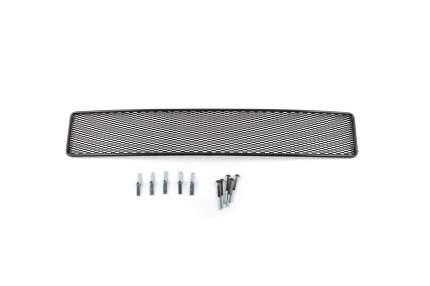 Сетка на бампер arbori внешняя для Ford Explorer 2012-2015, черн., 20 мм сота