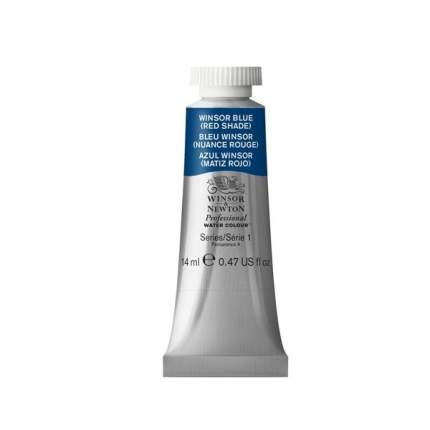 Акварель Winsor&Newton Professional винзор синий красноватый 14 мл