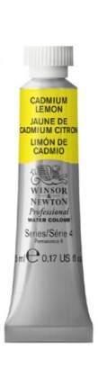 Акварель Winsor&Newton Professional кадмий лимонный 5 мл