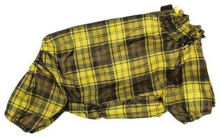Комбинезон для собак Гамма унисекс, желтый, длина спины 33 см