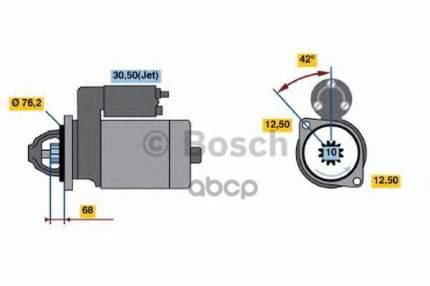 стартер Bosch 0001125048