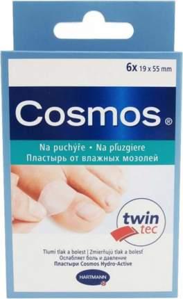 Пластырь Cosmos Hydro Active twin tec гидроактивный на мозоль на палец 6 шт.