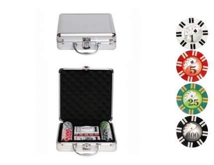 Набор для покера Partida Royal Flush на 100 фишек