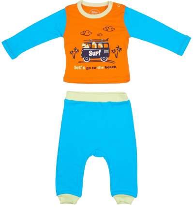 Детский комплект Viva Baby М1209-3 оранжевый р.86
