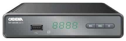 DVB-T2 приставка Cadena CDT-1651SB Black