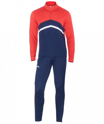 Спортивный костюм Jogel JPS-4301-921, темно-синий/красный/белый, L INT