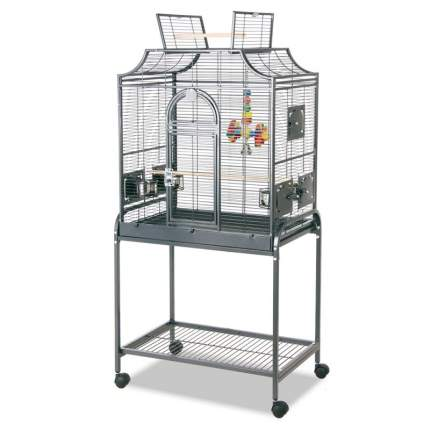 Клетка  для мелких и средних птиц Sky Rainforest Amazona 167 х 96 х 58 см, серая