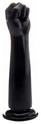 Чёрный кулак для фистинга Fisting Power Fist - 32,5 см