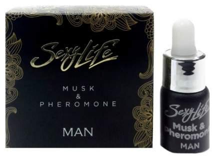 Мужские духи с феромонами Парфюм престиж Sexy Life Musk Pheromone 5 мл