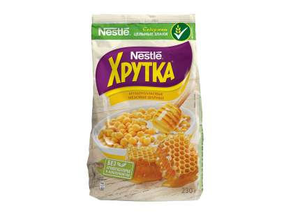 Готовые завтраки Nestle медовые шарики хрутка 230 г