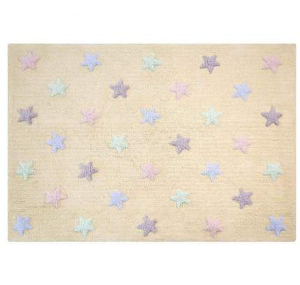 Lorena canals ковер триколор звезды stars tricolor (ванильный) 120*160