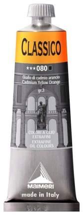 Масляная краска Maimeri Classico кадмий оранжевый 60 мл