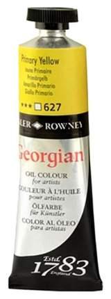 Масляная краска Daler Rowney Georgian желтый основной 75 мл