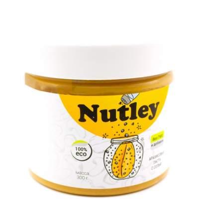 Паста арахисовая Nutley с морской солью 300 г