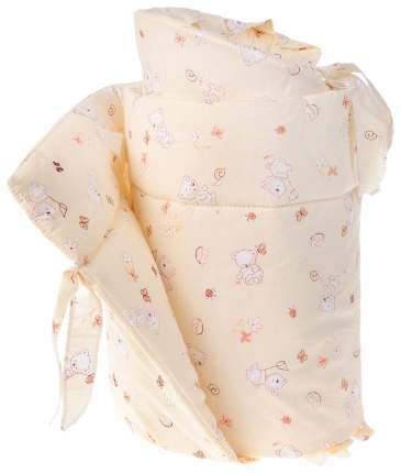 Текстильный бортик для кроватки Фея Мишка 3972