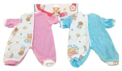 Одежда для кукол Shantou Gepai Комбинезон Мишка, 39-45 см