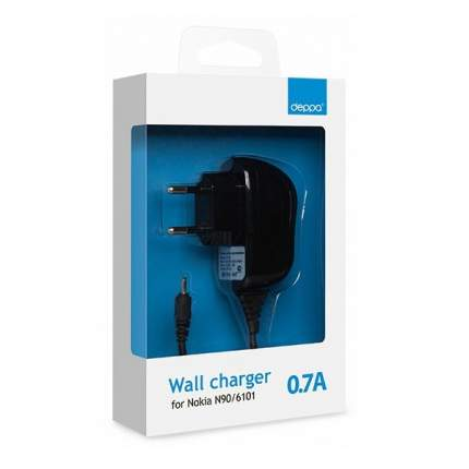 Сетевое зарядное устройство 0.7А для Nokia N90/6101, Deppa (23127)