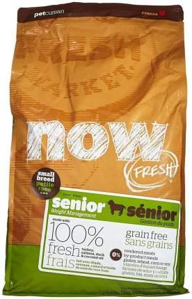 Сухой корм для собак NOW Fresh Senior Small, контроль веса, индейка, утка, овощи, 2,72кг