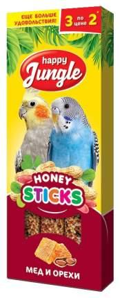Лакомства для птиц Happy Jungle Мед и орехи, 50 г