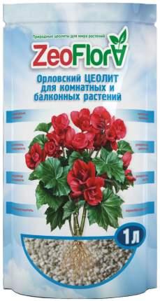 Почвоулучшитель природный для комнатных растений Бегония ZeoFlora, 1 л