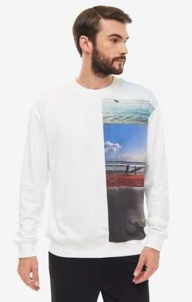 Толстовка мужская Calvin Klein Jeans J30J3.12858.1120 белая/разноцветная L
