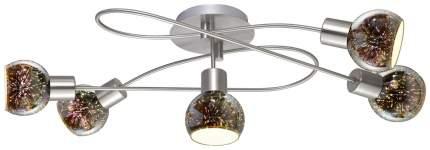 Спот Arte Lamp A6125PL-5SS e14