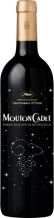 Вино Mouton Cadet Bordeaux AOC Rouge Limited Edition Cannes 2015
