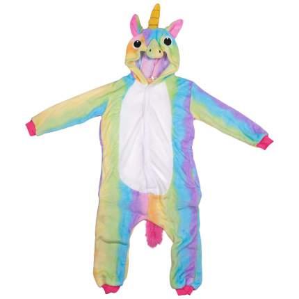 Пижама-кигуруми Lilkrok Радужный Единорог 106-115 см