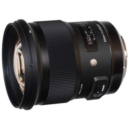 Объектив SIGMA 50mm f/1.4 DG HSM Nikon F