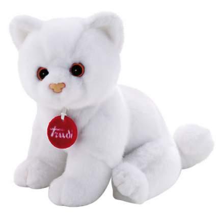Мягкая игрушка Trudi Котёнок Брэд (белый), 24 см