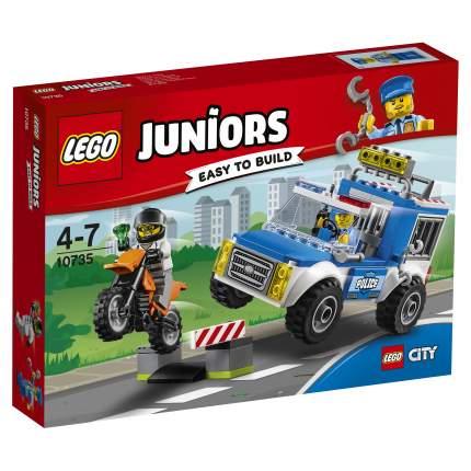 Конструктор LEGO Juniors Погоня на полицейском грузовике (10735)