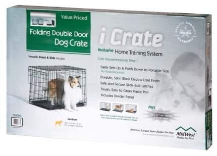 Клетка для собак Midwest 122x76x84