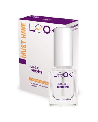 Закрепитель лака для ногтей nailLOOK Magic Drops 13 мл