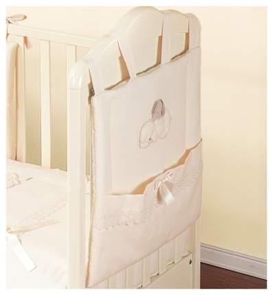 Текстильная карман в детскую кроватку Italbaby Cuccioli 715,0062-