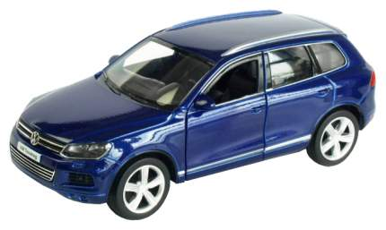 Коллекционная модель машина металлическая Rmz City 1:64 Volkswagen Touareg без механизмов