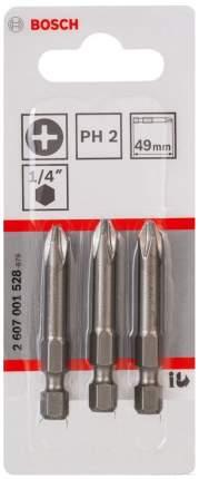 Набор бит Bosch 49мм PH2 XH 2607001528
