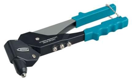 Заклёпочник литой, усиленный, поворотный 0-360*, заклёпки 2,4-4,8мм// GROSS 40405