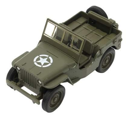 Машина военная Welly Военный автомобиль