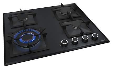 Встраиваемая варочная панель газовая Fornelli PGT 60 CALORE Black