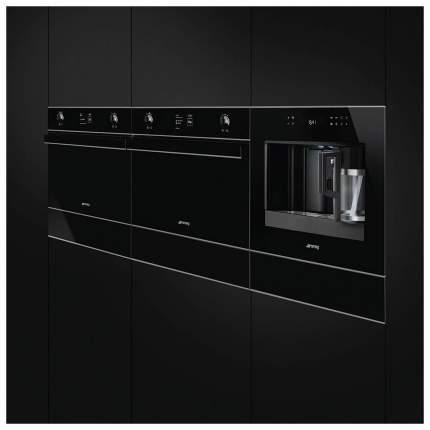 Встраиваемый электрический духовой шкаф Smeg SF4603MCNX Silver/Black