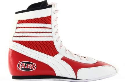 Боксерки Jabb JE-3204, красные/белые, 40