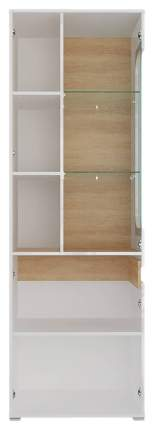 Платяной шкаф СтолЛайн STL_2019033100300 68х40,5х204,5, белый/дуб небраска