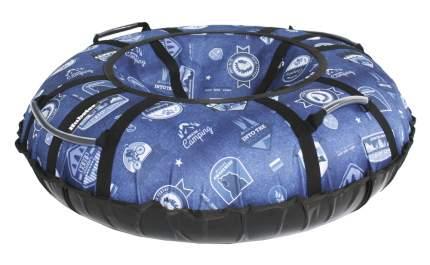 Тюбинг Hubster Люкс Pro Кемпинг синий 90 см
