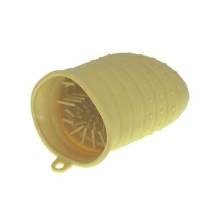 Лапомойка для собак ZooOne силиконовая, большая, желтая
