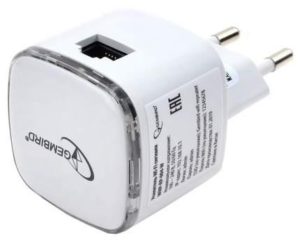 Усилитель WiFi сигнала Gembird  WNP-RP-004W с RJ45 порт, 802.11b-g-n, 300 Мбит-с - белый
