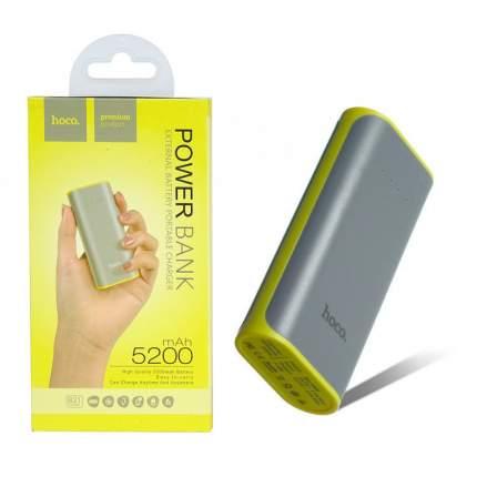 Внешний аккумулятор Hoco B21 5200 мА/ч Grey