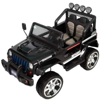 Детский электромобиль Barty Jeep S2388 4WD, Чёрный